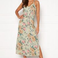 Happy Holly Annabelle dress Beige / Floral 48/50