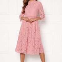 Happy Holly Madison lace dress Dusty pink 50