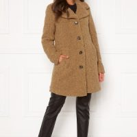 Happy Holly Nicole teddy coat Beige 36/38
