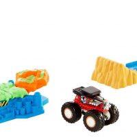 Hot Wheels Monster Trucks Lekesett Launch 'n' Bash