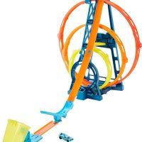 Hot Wheels Track Builder Unlimited Triple Loop Bilbane