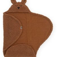 Jollein Bunny Omslagsvognpose, Caramel