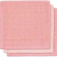Jollein Tvättlappar 3-pack, Pink