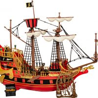 Kaptein Sabeltann Den Sorte Dame Skepp