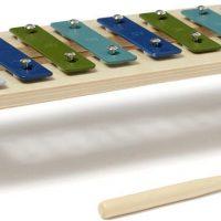 Kids Concept Xylofon Plywood, Blå