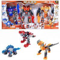 M.A.R.S. Robot Converters Dino Set