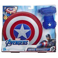 Marvel Avengers Captain America Skjold og Hanske