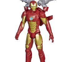 Marvel Avengers Titan Hero Figur Iron Man Blast Gear