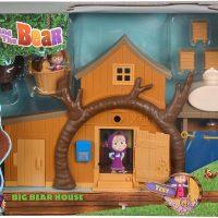 Masha og Mishka Lekesett Big Bear House inkl Figurer