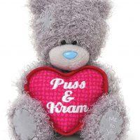 Me To You Kosedyr Teddybjørn Puss og Kram 13 cm
