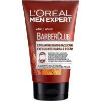 Men Expert Barber Club Exfoliating Beard & Face Scrub, 100 ml L'Oréal Paris Skjeggolje & Skjeggvoks