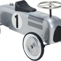 Mini Speeders Gåbil Lil Racer, Sølv