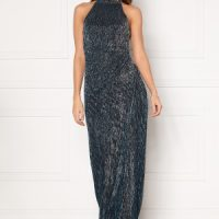 Moments New York Alice Lurex Gown Blue 40