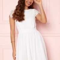 Moments New York Camellia Lace Dress White 36