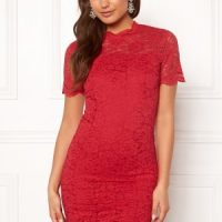 Moments New York Kassia Lace Dress Red 34