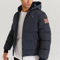 Morris Dunjakke Duncan Down Jacket Blå