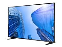 NEC MultiSync E557Q - 55 Diagonalklasse (54.6 synlig) - E Series LED-backlit LCD display - digital signering - 4K UHD (2160p) 3840 x 2160 - direktebelyst LED - svart