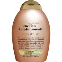 Ogx Ever Straight Brazilian Keratin Smooth Shampoo, 385 ml OGX Shampoo