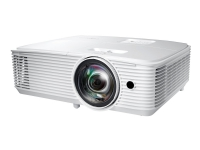 Optoma W318STe - DLP-projektor - portabel - 3D - 3800 ANSI-lumen - WXGA (1280 x 800) - 16:10 - 720p