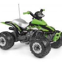 PegPérego Corral T-Rex Firhjuling 330W, Grønn