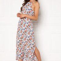 Pieces Avianna Ankle Slip Dress Kentucky Blue AOP S