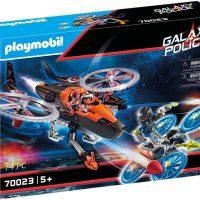 Playmobil 70023 Galaxy pirathelikopter