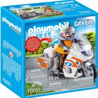 Playmobil 70051 Ambulansemotorsykkel