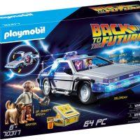 Playmobil 70317 Tilbake Til Fremtiden Med DeLorean