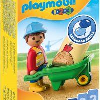 Playmobil 70409 Byggarbeider med Trillebår