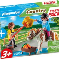 Playmobil 70505 Hestegård Lekesett