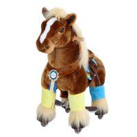 PonyCycle Ride-On Hest Premium, Brun