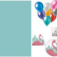Procos Partypakke Flamingo