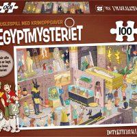 Puslespill 100 D2 Egyptmysteriet