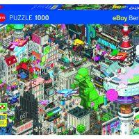 Puslespill 1000 Berlin Quest Heye