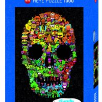 Puslespill 1000 Burgerman Skull Heye