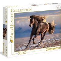 Puslespill 1000 Free Horse Clementoni