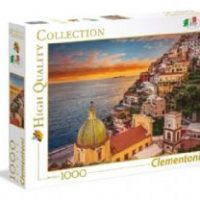 Puslespill 1000 High Color Positano Clementoni