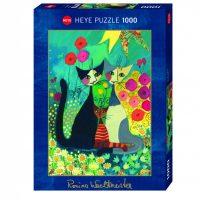 Puslespill 1000 Wachtmeister, Flowerbed Heye