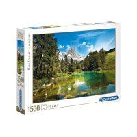 Puslespill 1500 Blue Lake Clementoni