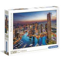 Puslespill 1500 Dubai Marina Clementoni