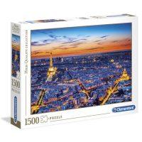 Puslespill 1500 Paris View Clementoni