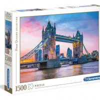 Puslespill 1500 Tower Bridge Clementoni