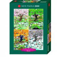 Puslespill 2000 4 Seasons Heye