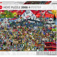 Puslespill 2000 Music History Heye