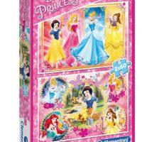 Puslespill 2X60 Princess Clementoni