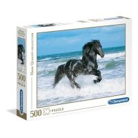 Puslespill 500 Black Horse Clementoni