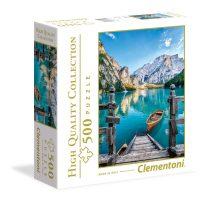 Puslespill 500 Braies Italia Clementoni