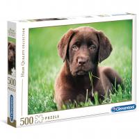 Puslespill 500 Chocolate Puppy Clementoni