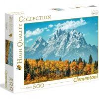 Puslespill 500 Grand Teton Clementoni