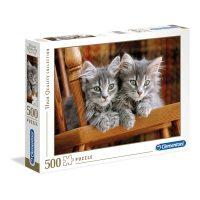Puslespill 500 Kittens Clementoni